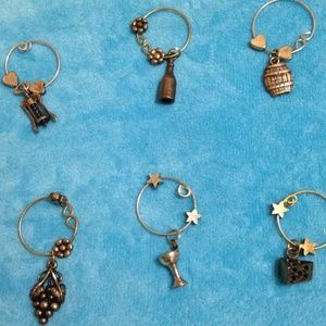 Everything WIne - Wine Glass Charms (6)